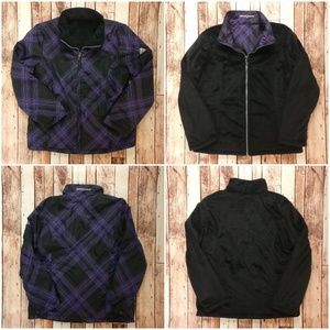ZeroXposur Reversible Jacket Purple Plaid Design!